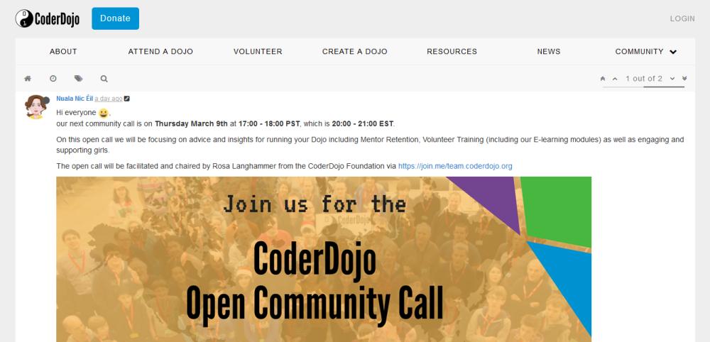 CoderDojo_Community_Forums_PostsExample