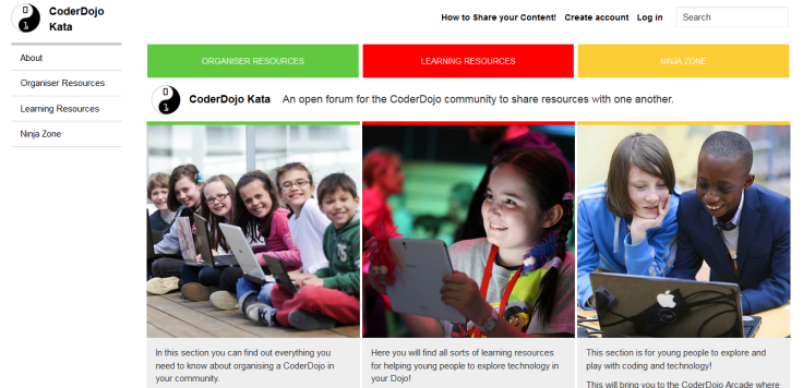 CoderDojo_Community_Kata_HomePage